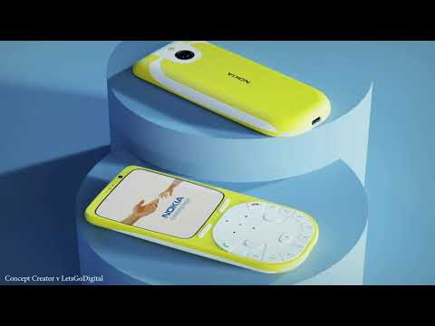Nokia 3650 4G on renderings: an updated 18-year-old model with an unusual design