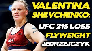 Valentina Shevchenko is Dropping Down to 125 Pounds After UFC 215 Loss to Amanda Nunes