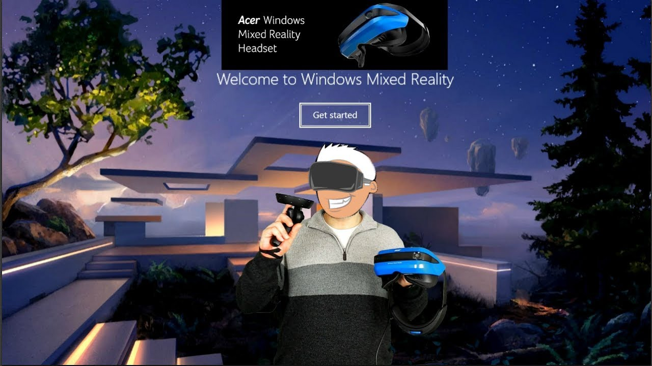 Taking A Quick Look At The Acer Window Mixed Reality Headset