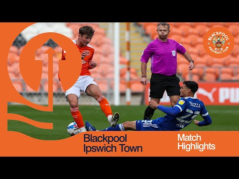Blackpool Ipswich Goals And Highlights