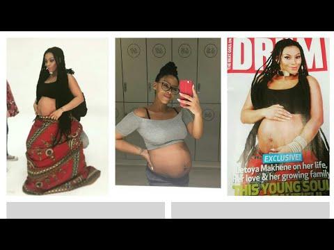 Generations Tshidi is pregnant with baby no4! congrats