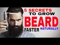 HOW TO GROW A BEARD FASTER NATURALLY | Grooming Tips( Hindi ) ✓
