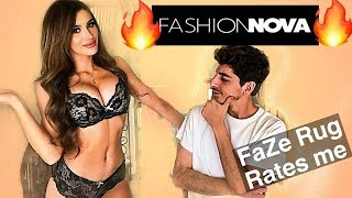 FAZE RUG RATES MY FASHION NOVA OUTFITS