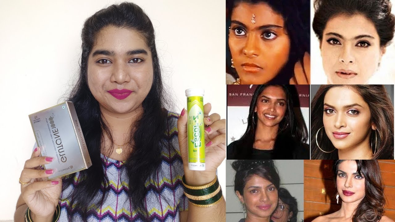 Bollywood Celebrities Beauty Secrets For Glowing Skin  Glutathione