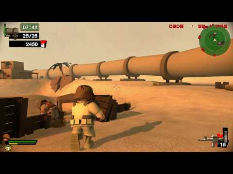 Foreign Legion Buckets of Blood - PC Gameplay