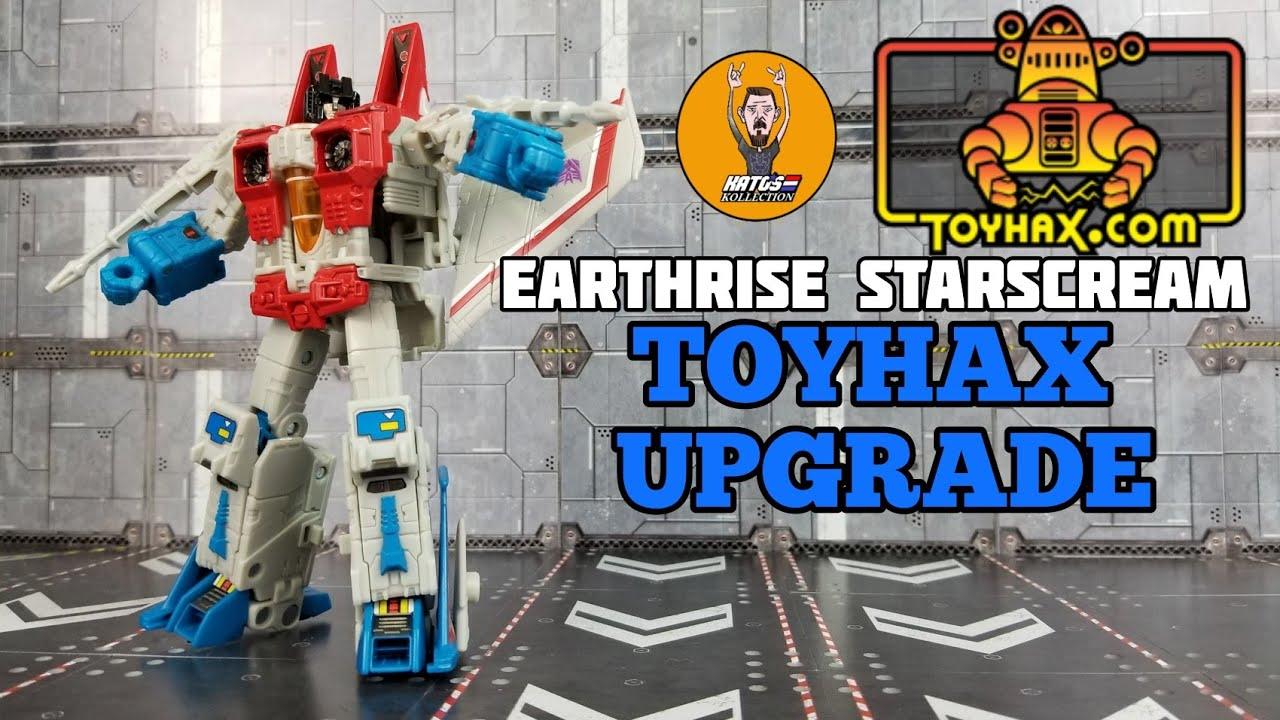 Toyhax Upgrade for Earthrise Starscream by Kato's Kollection