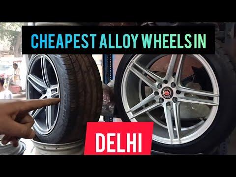 Cheapest Alloy Wheels in Delhi🔥| Modified Honda City🤩 | Mayapuri Alloy Market🔥| VLOG