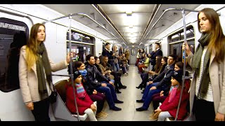Люди Зеркала в Метро | Human Mirror in Kiev Subway | СоциУМ TV