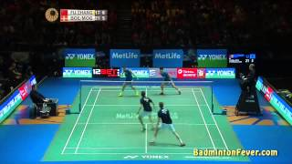 badminton highlights all england open 2015 md finals