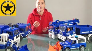 BRUDER TRUCKS ♦ Special THW collection for CHILDREN