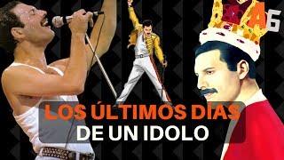 Los dolorosos últimos días de Freddie Mercury