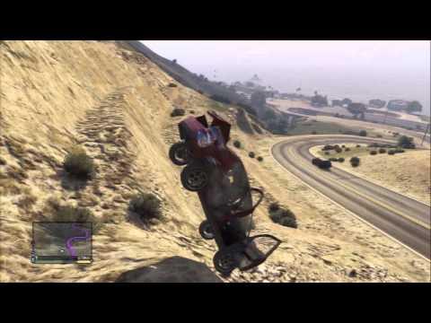 Gameplay gta 5 funny bigfoot moments fails risas accidentes caidas atropellos