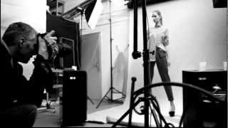 The Tall Blonde for TJ Studio - backstages