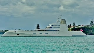 Expensive stuff (three hundred and fifty million dollar super yacht