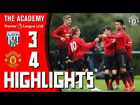 The Academy | U18 Highlights | West Brom 3-4 Manchester United
