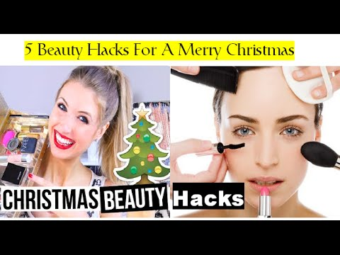 Be Christmas Ready With Great Skin And Hair - Christmas Beauty Hacks