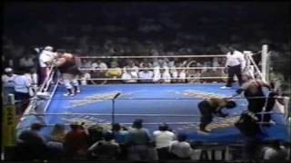 CWA Germany - Otto Wanz vs Bull Power (Big Van Vader) pt.1