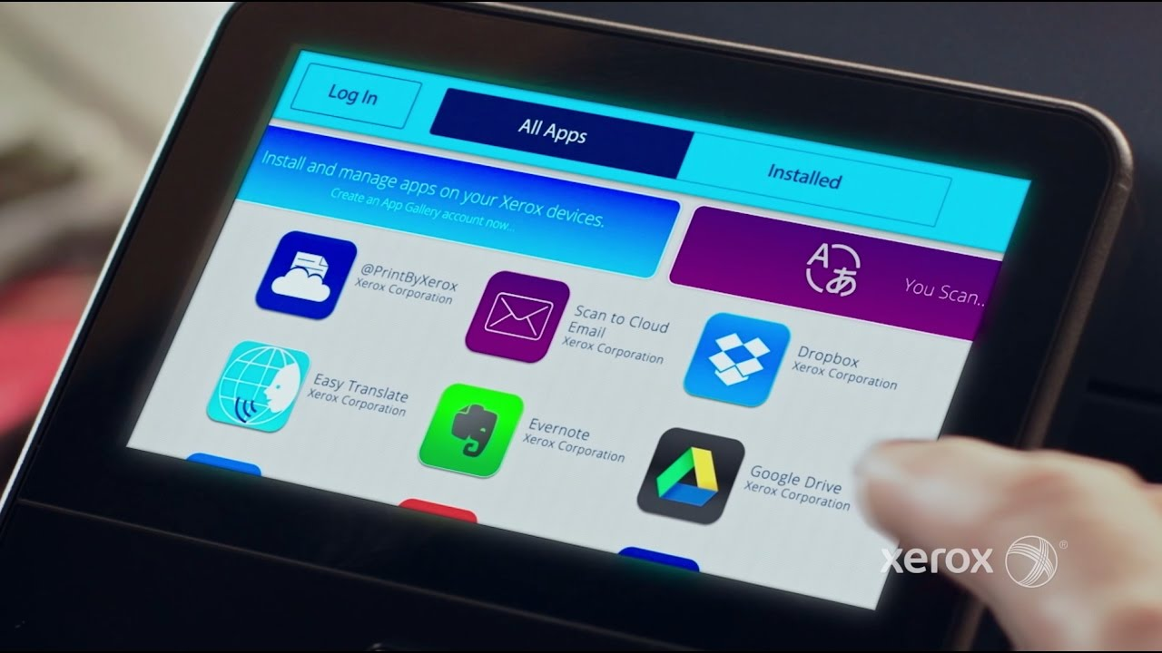 Xerox® ConnectKey® Technology and the Apps Advantage