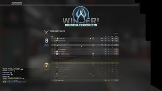 CS:GO INTENSE COMPETITIVE GAMEPLAY OMG!!!!!! DID HE REALLY DO THAT????