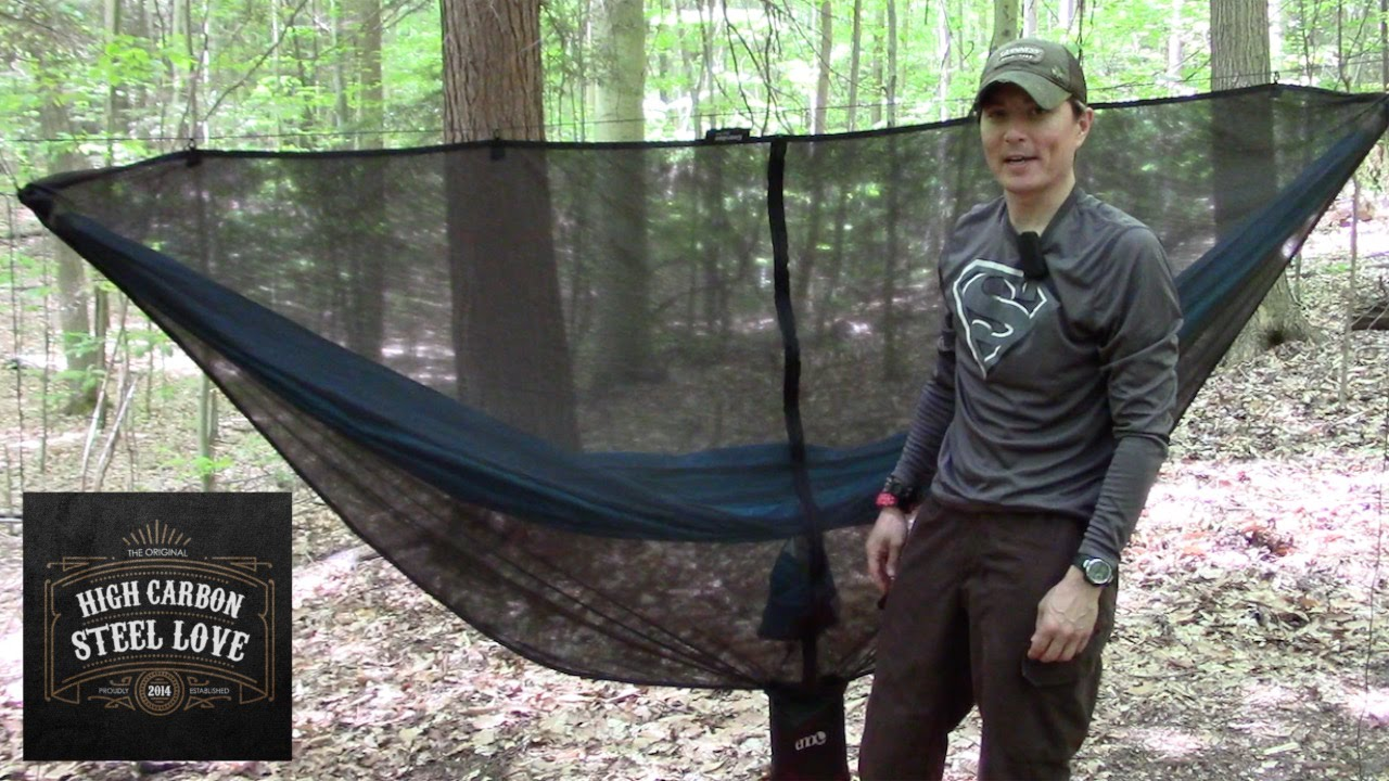 My ENO Guardian Bug Net Setup And A Warm Beautiful Day In The Forest