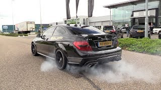 AMG Cars Arriving @ AMG Meet! RENNtech C63, A45 R, C63 W204 Coupe, E63s & More!