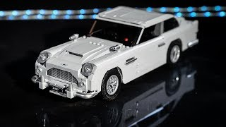 LEGO James Bond Aston Martin DB5 10262 stop-motion build