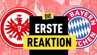 2:1! Eintracht Frankfurt ist auch von den Bayern nicht zu stoppen!