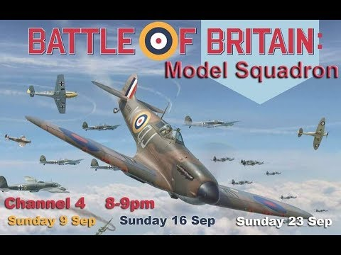 Battle Of Britain - Model Squadron, actual models used in the programme