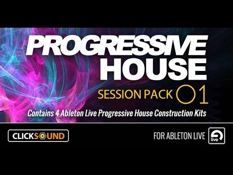 Ableton Progressive House Session Pack 1