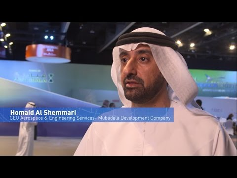 Homaid Al Shimmari, CEO, Aerospace & Engineering Services, Mubadala Development Company