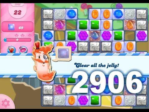 Candy Crush Saga Level 2906 (3 stars, No boosters)