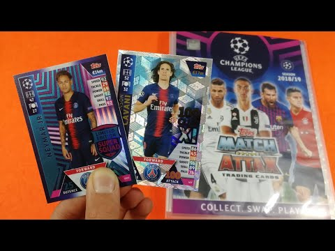 LIMITED+100 CLUB!! STARTER PACK Match Attax Champions League 2018-19