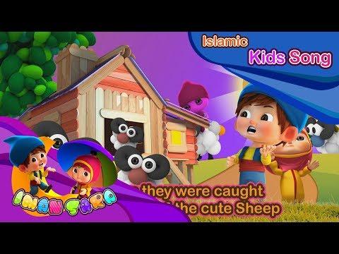 Arabic Numbers | 10 Little Cute Sheep | Kids Song | Iman & Sara thumbnail