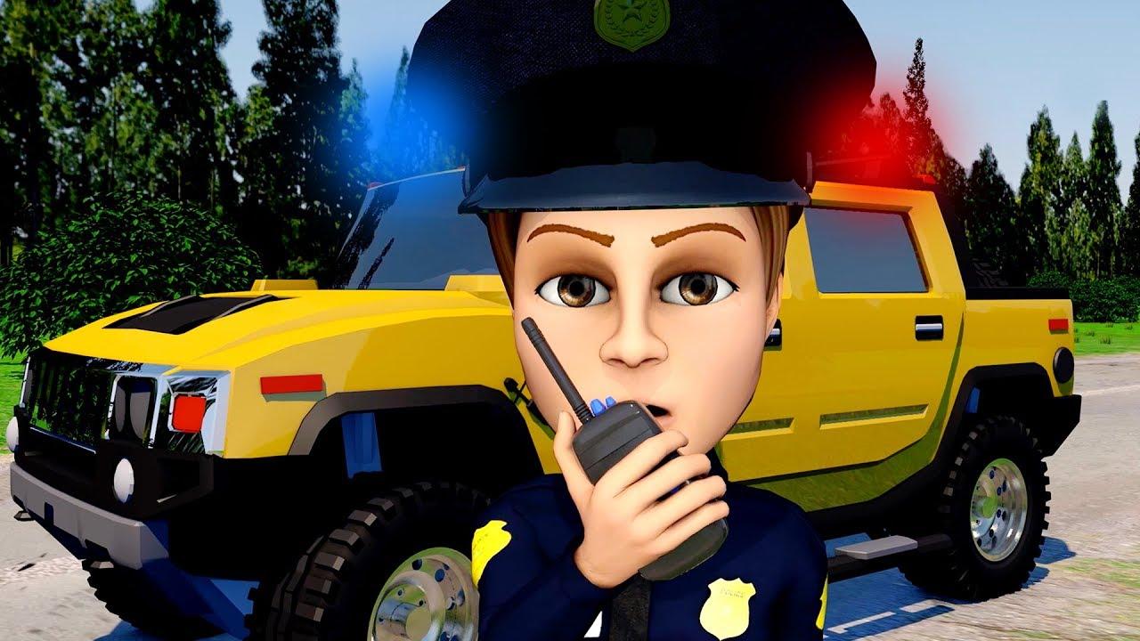 Voiture de police en dessin anim petite voiture de police voiture dessin anim cars youtube - Voiture police dessin anime ...