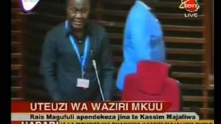 Mhe  Kassim Majaliwa Ateuliwa Kuwa Waziri Mkuu Serikali Ya Awamu Ya 5