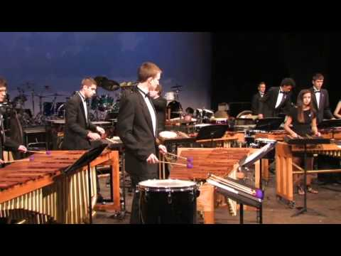 Mount Lebanon Highschool Spring Percussion Ensemble 2012