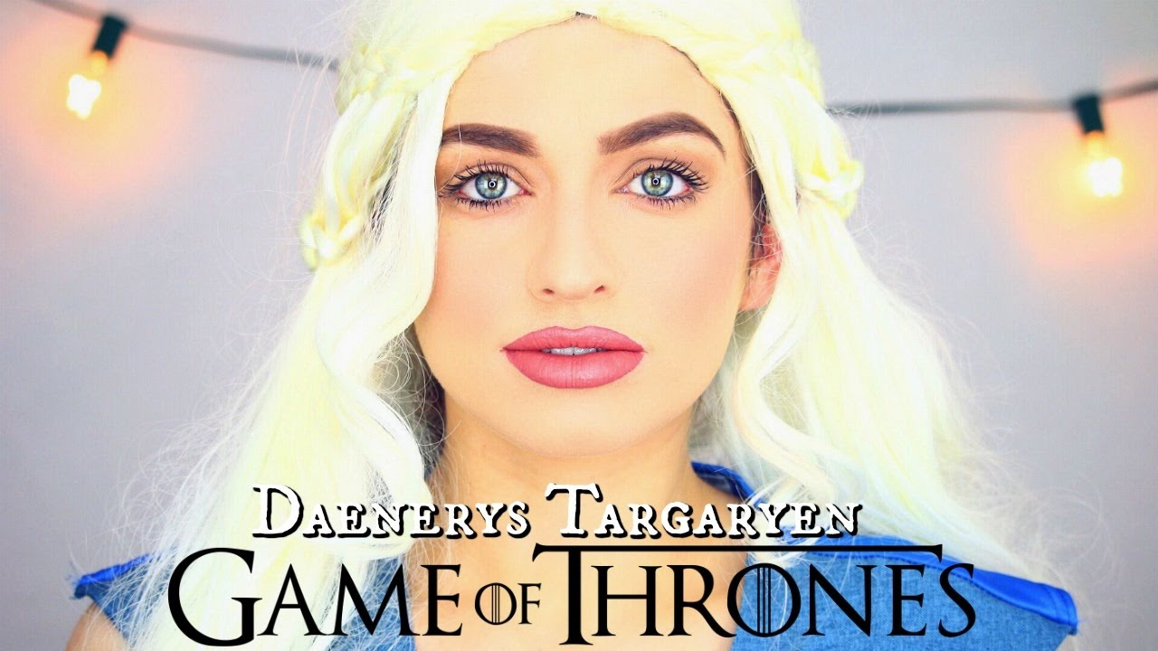 Game of Thrones - Khaleesi / Daenerys Targaryen Halloween Makeup Tutorial