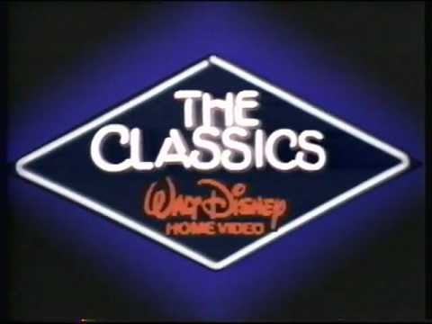 Walt disney home video the classics logo ident youtube for The classic home company