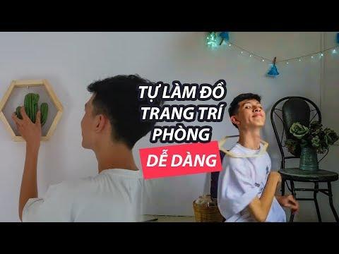 LÀM ĐỒ TRANG TRÍ PHÒNG ĐƠN GIẢN VÀ RẺ #2 | Easy DIY Room Decor 2019 | Son Van Le