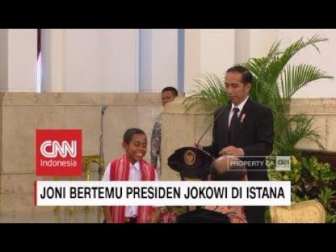 Joni Minta Sepeda & Rumah ke Jokowi ; Cerita Joni Pada Presiden Jokowi Sebelum Panjat Tiang Bendera Mp3