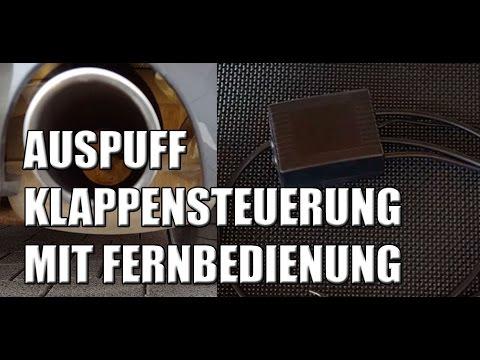 Auspuff Klappensteuerung Mit Fernbedienung Vom Klappenprofi Youtube
