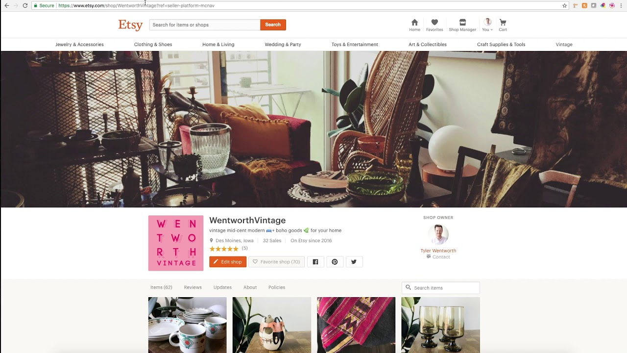 How To Tag Etsy Products on Instagram ( through Facebook Business Manager Catalogs )