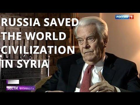 English Lord Owen On Russia: Putin Saved The World Civilization; Trump Is New Reagan
