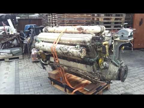 Zvezda M50 V12 63 Liter Hubraum Dieselmotor