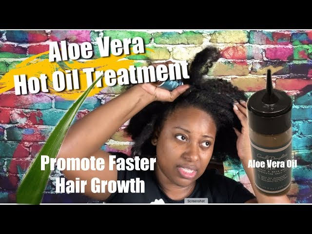 How to Promote Faster Hair Growth w/ Aloe Vera Oil to|| Vicariously Me