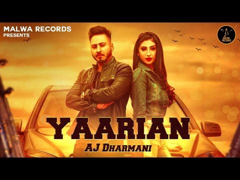 yaarian-(full-video)-aj-dharmani-|-isha-sharma-|-the-boss-|-b2gether-|-latest-punjabi-song-2019