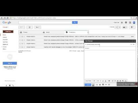Cara kirim file besar melalui Email lewat Google Drive.