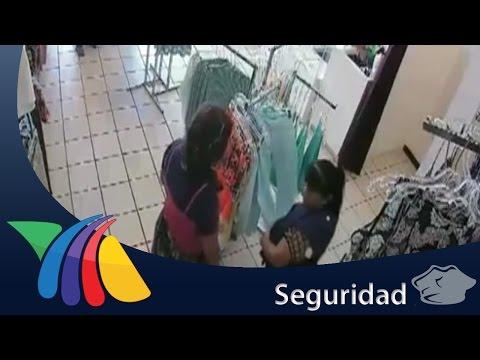 Farderas en acción roban artículos en plaza comercial | Noticias de Chihuahua