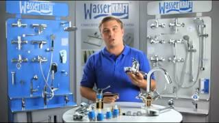 Переключатели на душ в смесителях для ванны WasserKRAFT