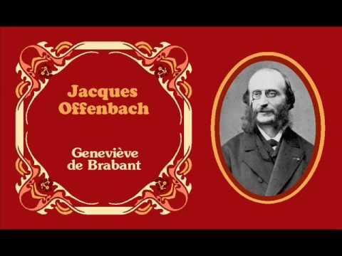 """Jacques Offenbach - Boléro «J'arrive armé de pied en cap» de """"Geneviève de Brabant"""" (1859)"""